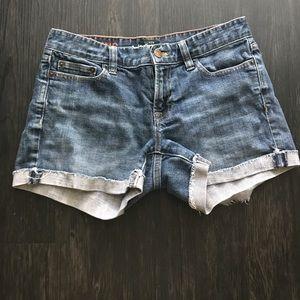 Jean shorts Jcrew